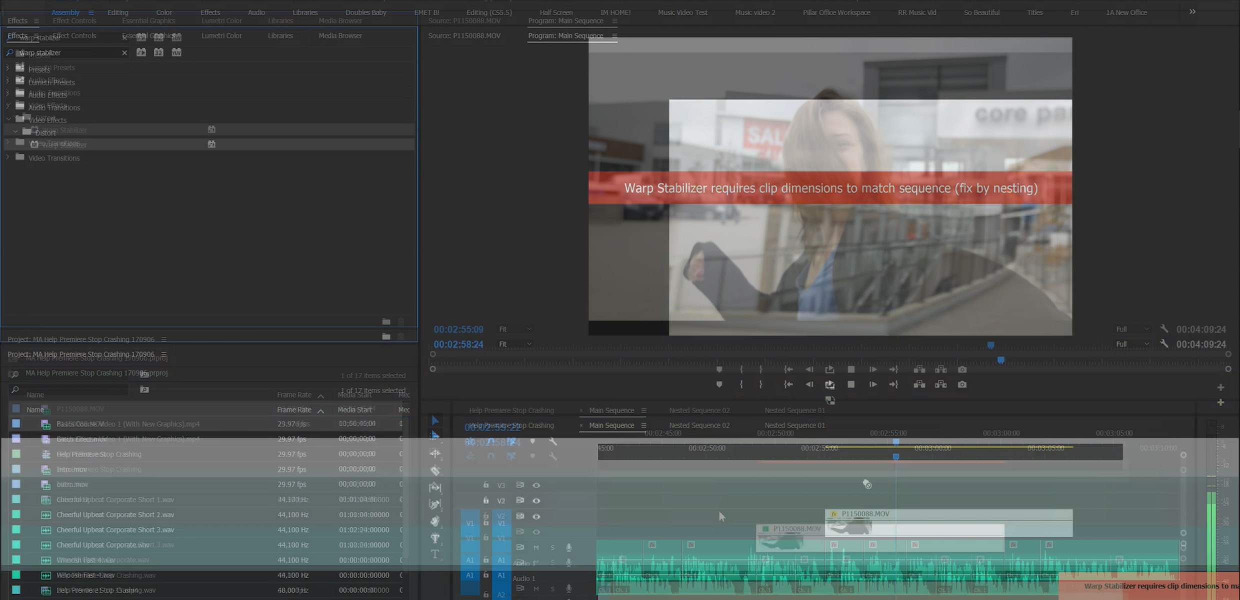 How To Make Premiere Pro Stop Crashing!   Motion Array
