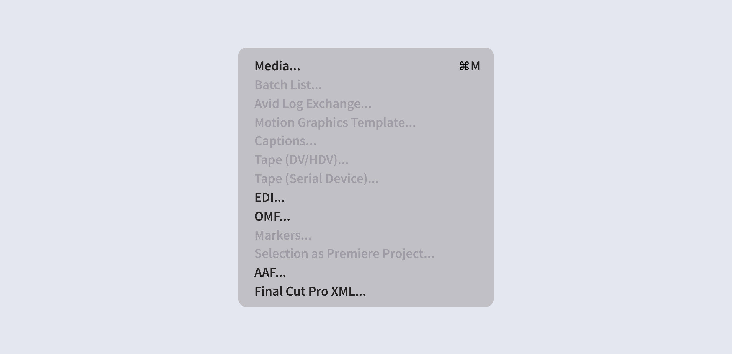 How to Import & Export OMF Files in Premiere Pro CC | Motion
