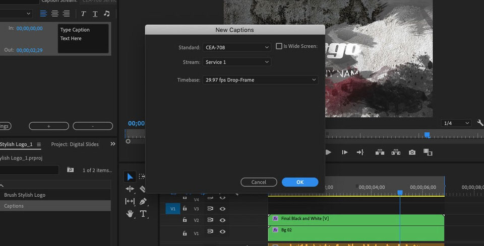 How to Add Subtitles in Adobe Premiere Pro (Tutorial