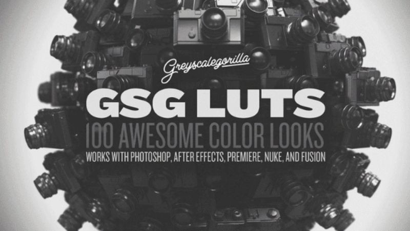 Awesome Color LUTs