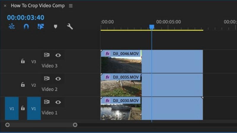 crop video tracks